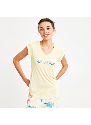 Nautica W124PJTK.SAR Nautıca Kadın Sarı Pijama Takımı Sarı